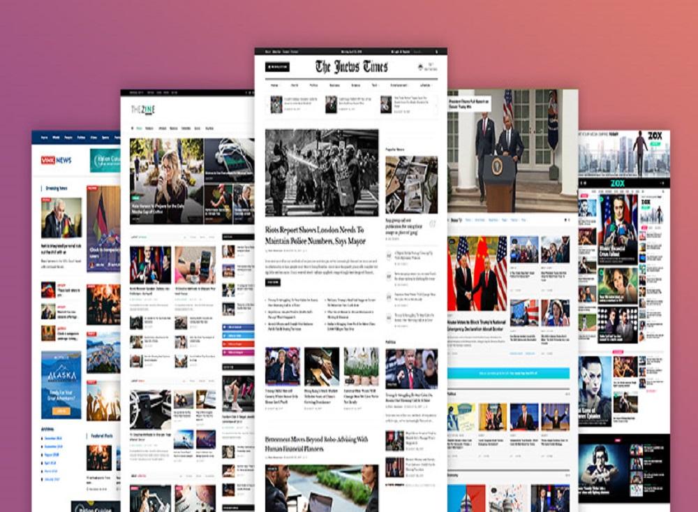 News Portal Websites Design