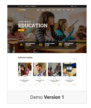 demo 3 Create online course website | Learning Management System