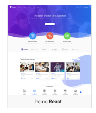 demo 4 Create online course website | Learning Management System