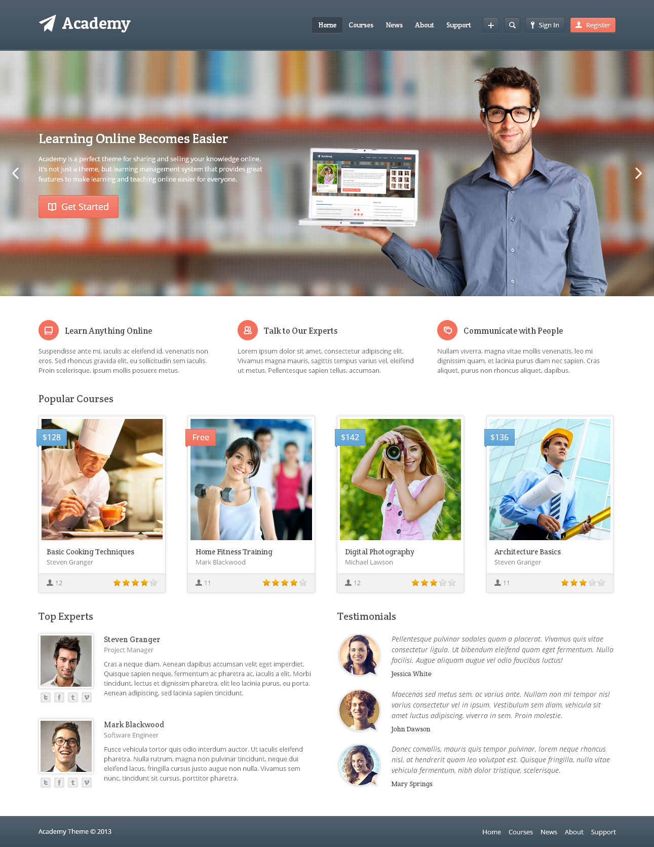 lms 1 Create online course website | Learning Management System