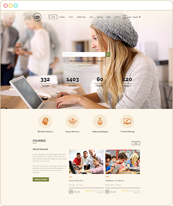 lms 2 Create online course website | Learning Management System