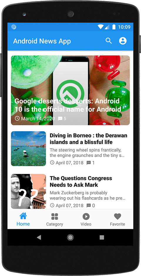 news app design ranchi Create your News App at best price