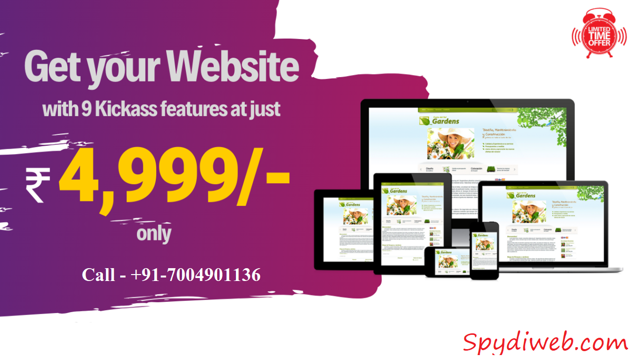 Business Website @ 4999 Only