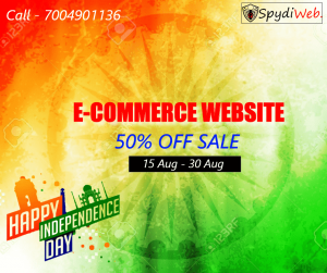 e-commerce website sale offer