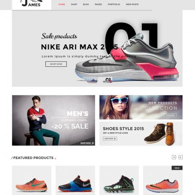 Footwear store website company