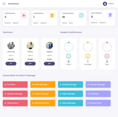 school app development